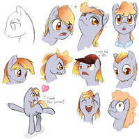 Faces of Linux by CeleryPony