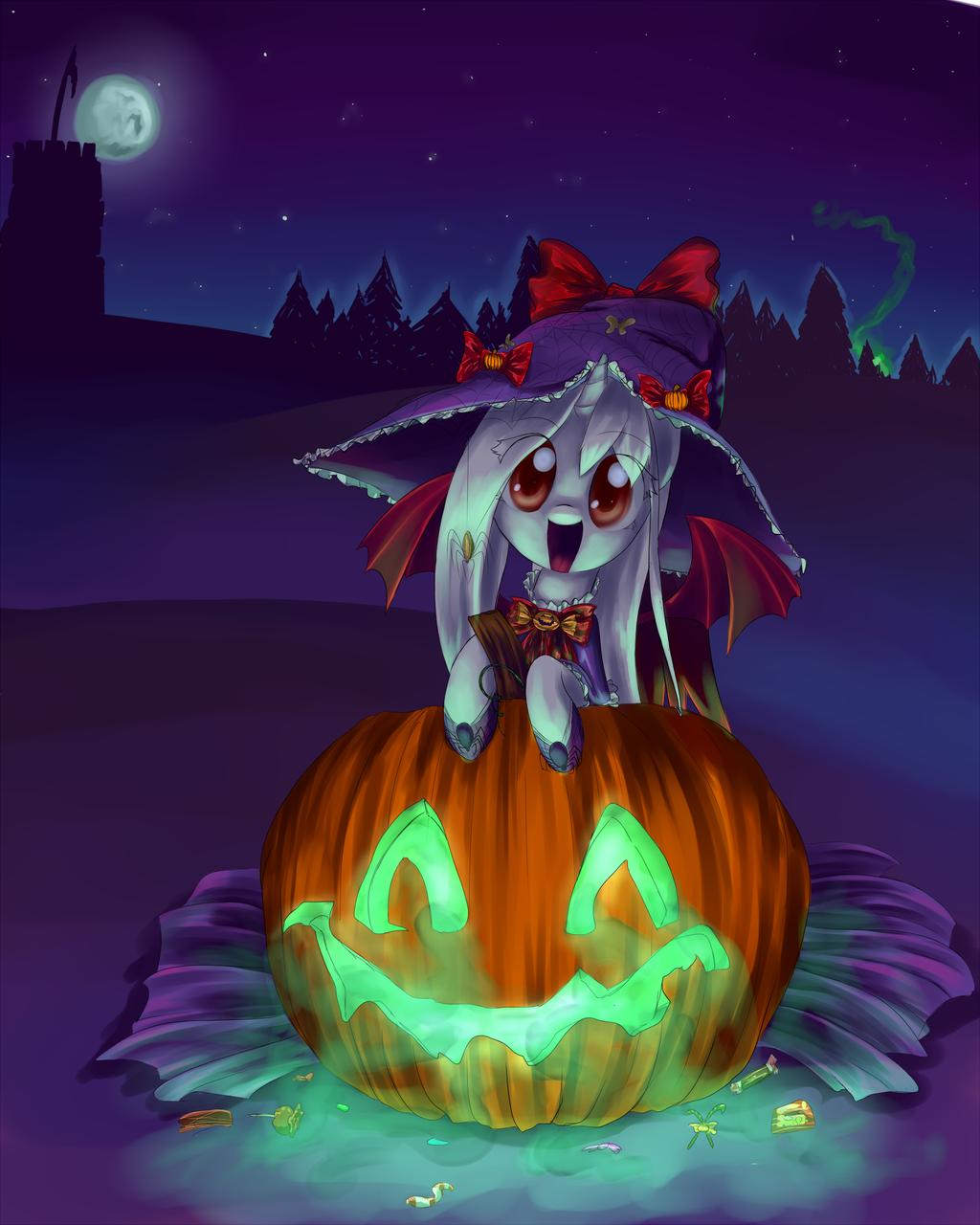 Happy Halloween! by CeleryPony