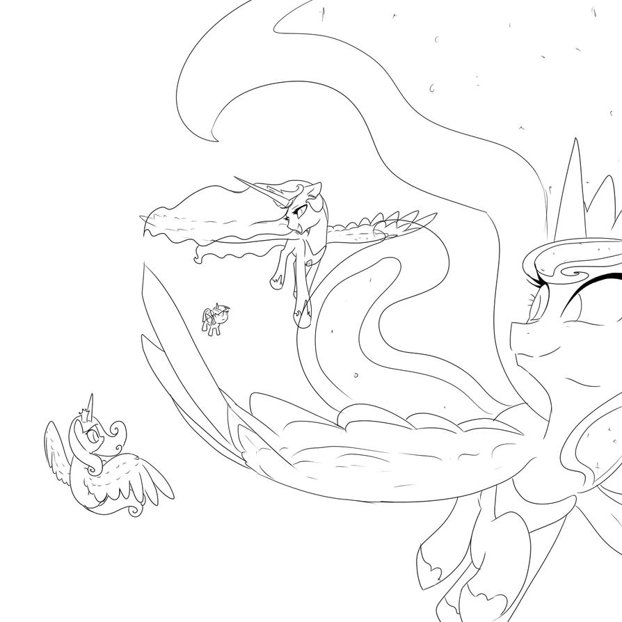 Princesses by CeleryPony