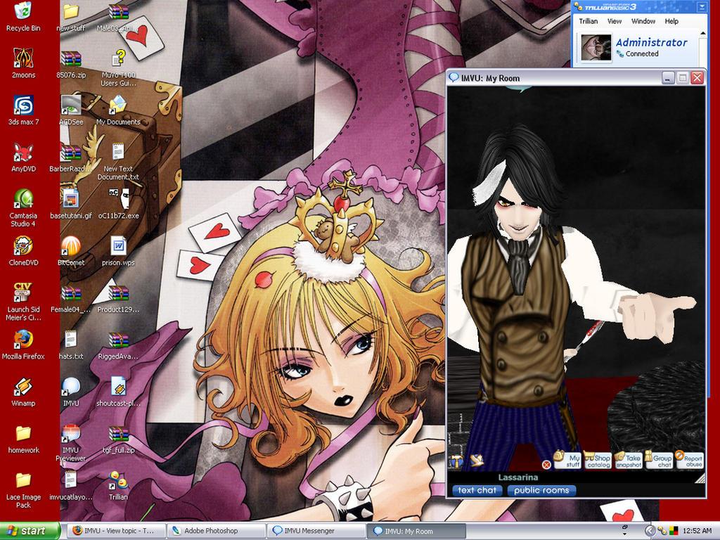 My Desktop by dragon-girl-z