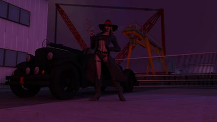 Natalya Tommy Gun by Ayamikhan