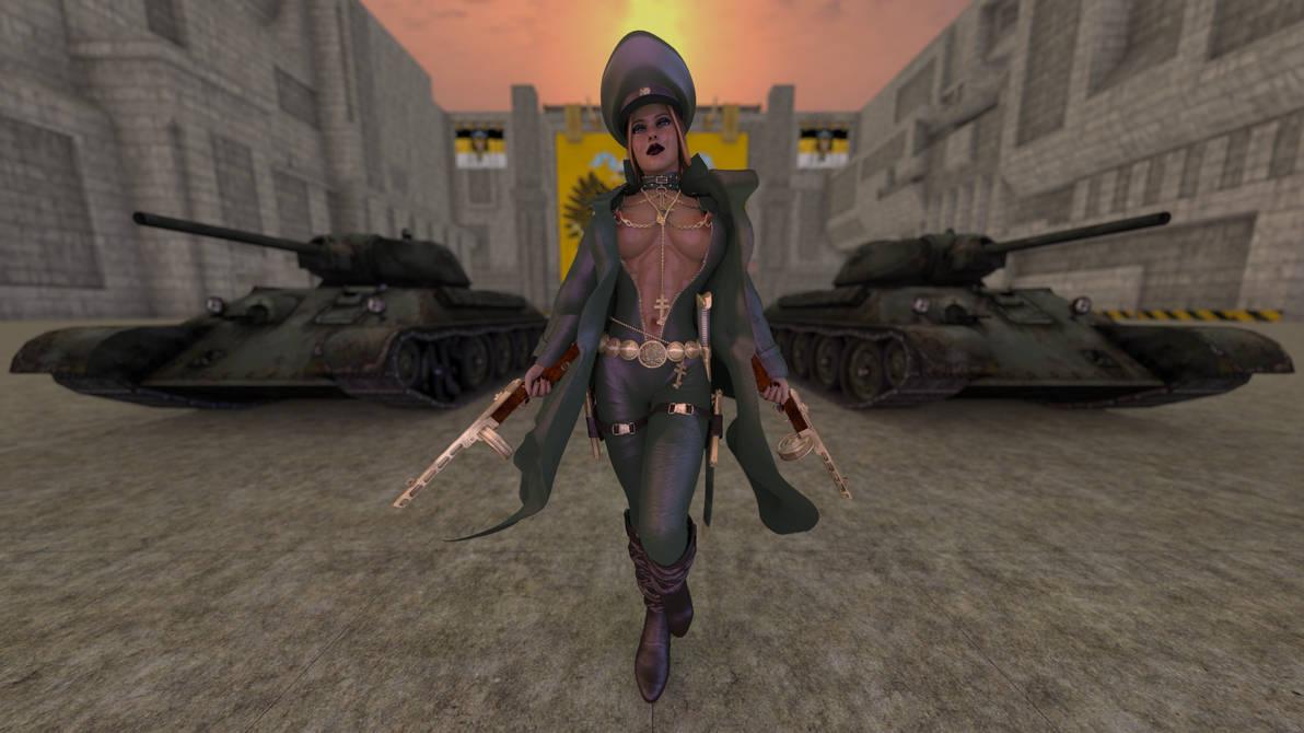 Colonel Romanova by Ayamikhan