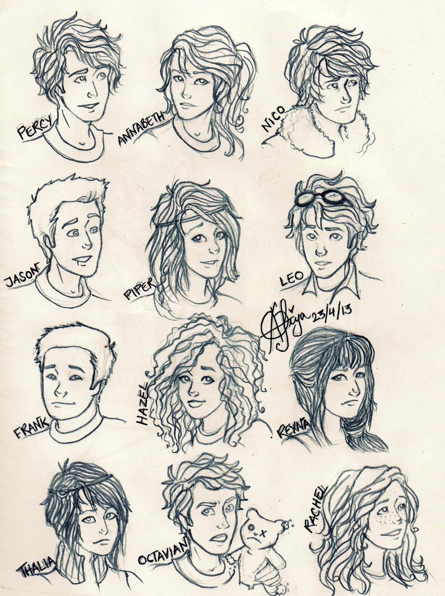 Which Heroes Of Olympu...