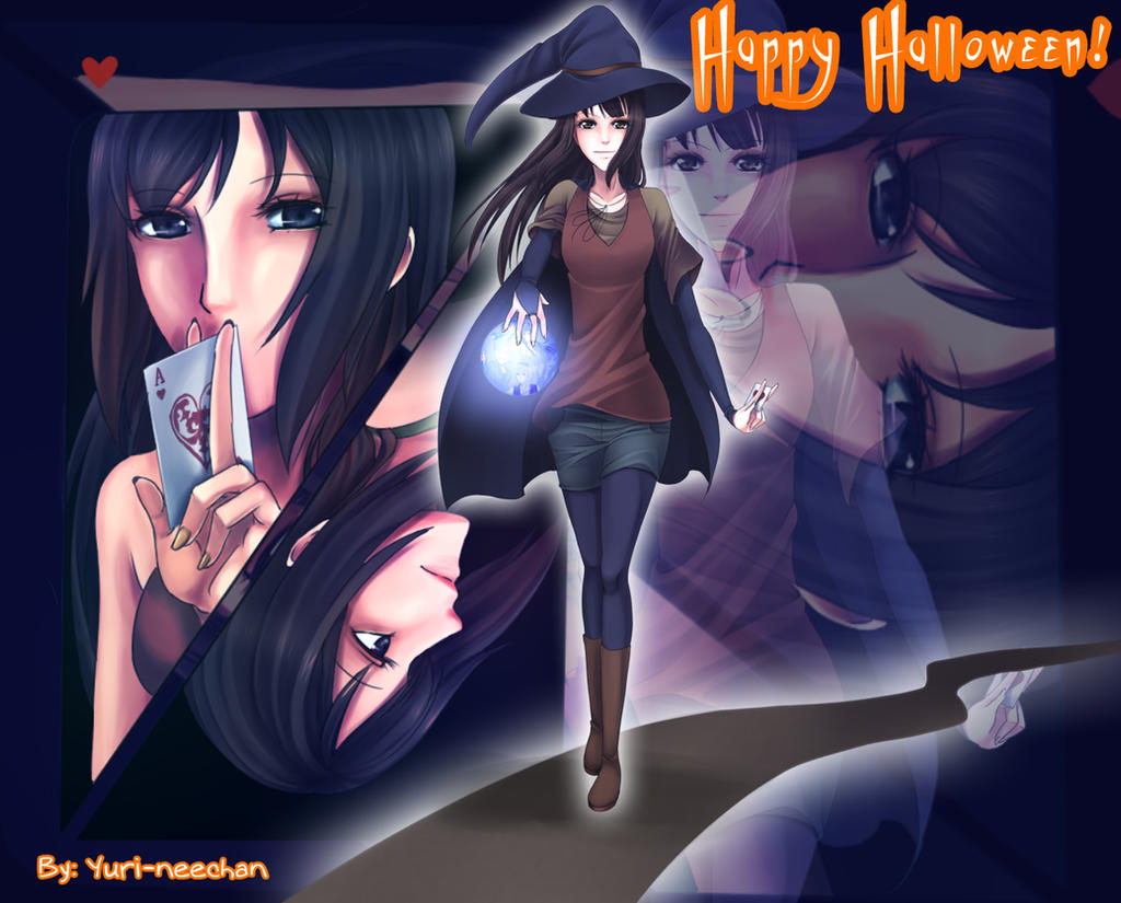 Happy Halloween! 2012 by Yuri-neechan