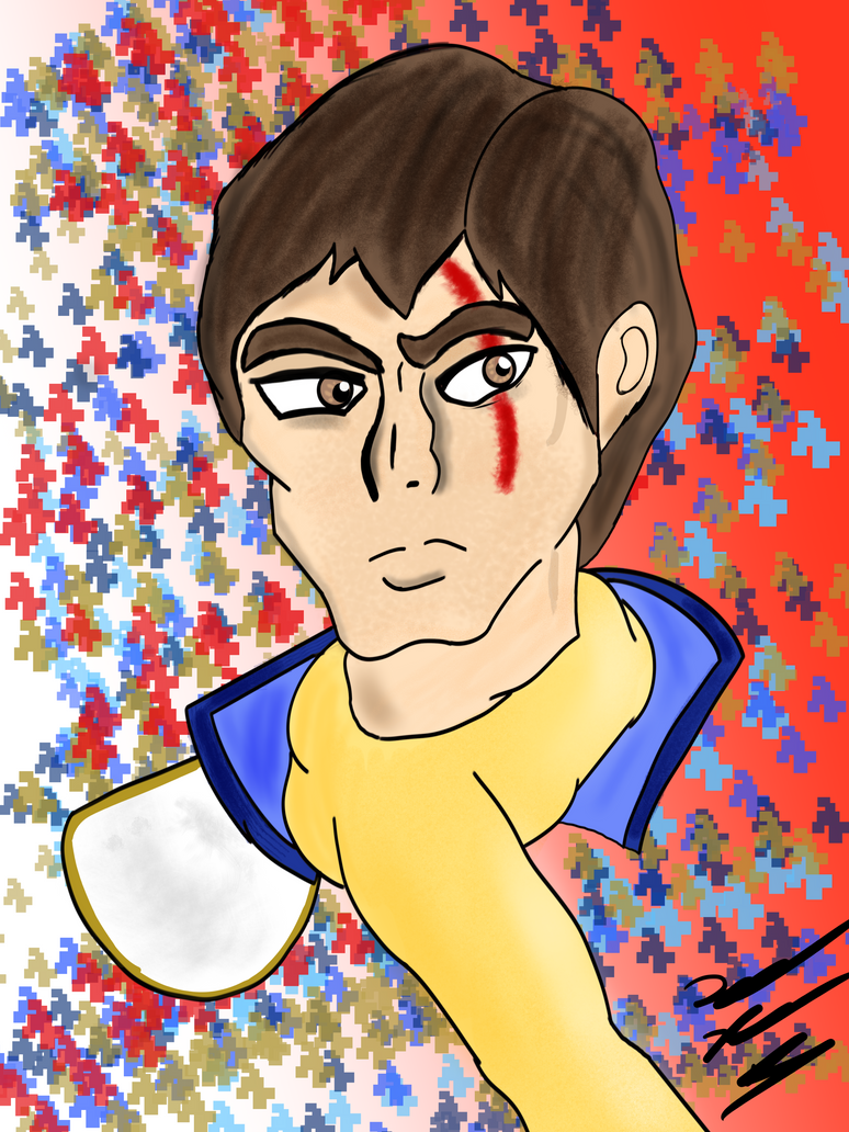 Captain Falcon Unmasked by Count-Toon