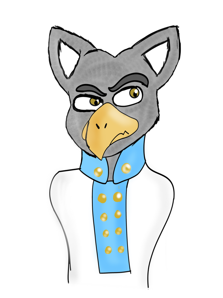 Austrian Griffin Doodle by Count-Toon