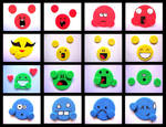 Playdoh Emotes 2.0 by PurplegreenXD