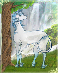 Lady Amalthea Last Unicorn by bandeau
