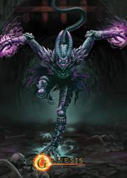 Korr - Champion Illustration for Genesis BoC