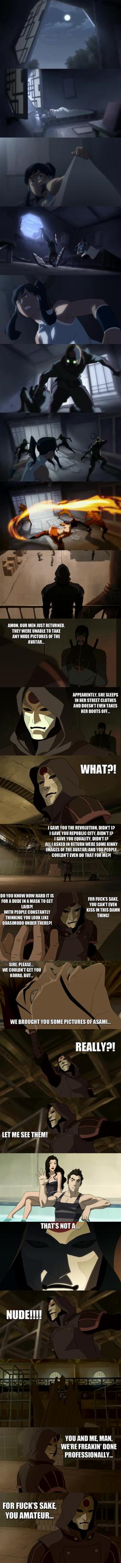 Legend of Korra - Amon is desperate... by yourparodies