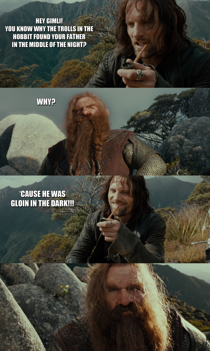 Bad Joke Aragorn by yourparodies