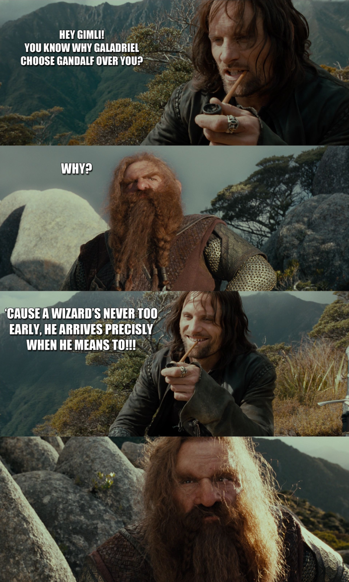 Bad Joke Aragorn 2 by yourparodies