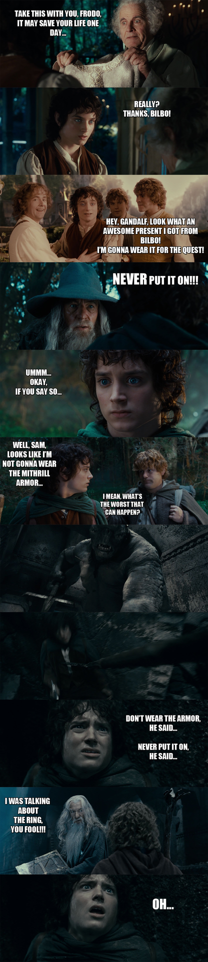 The Lord of the Rings - A simple mistake... by yourparodies