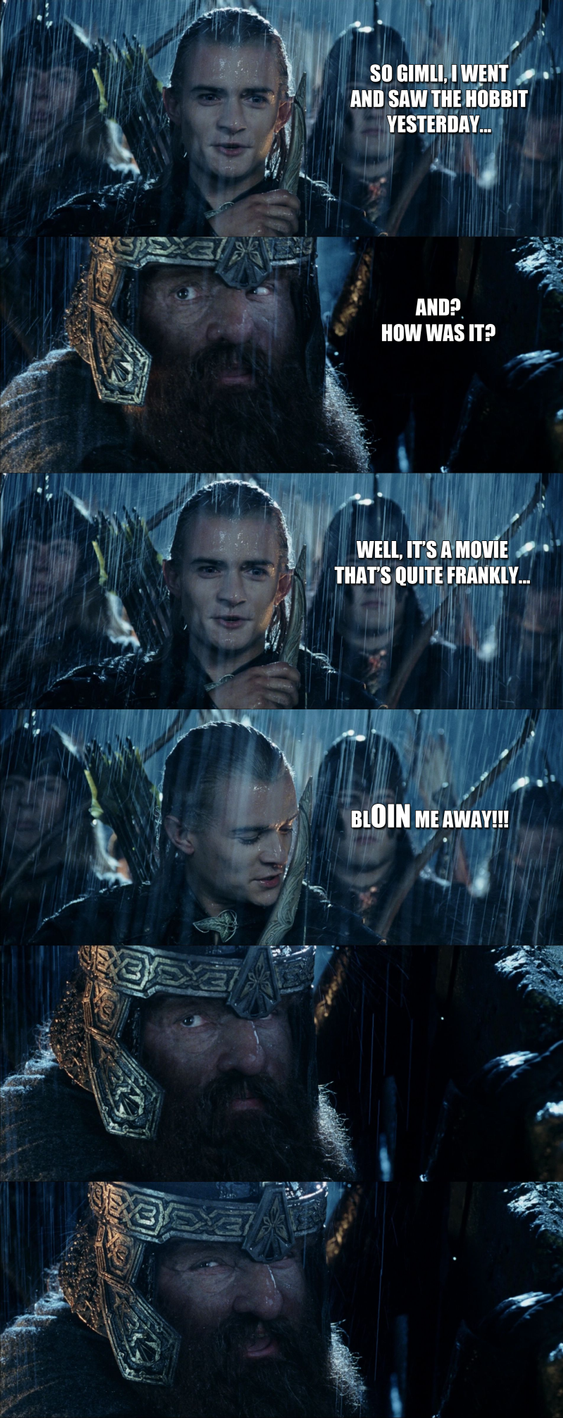 Bad Joke Legolas by yourparodies