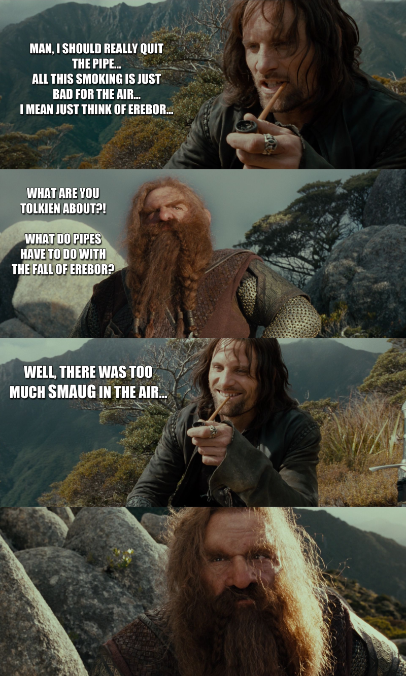 Bad Joke Aragorn 3 by yourparodies