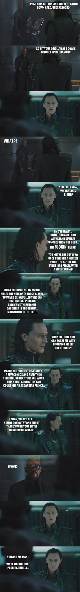 The Avengers - purist Loki... by yourparodies