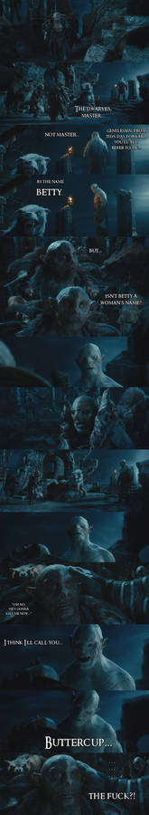 The Hobbit - Azog's trippin...
