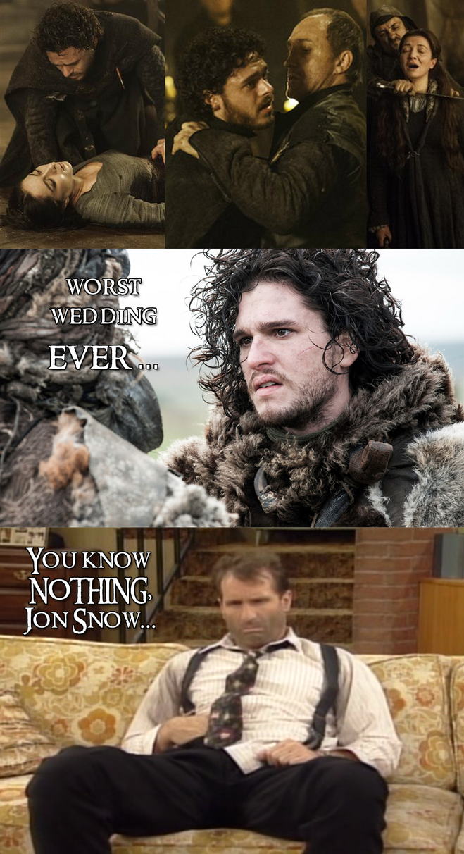 Game of Thrones - Of weddings and regrets... by yourparodies