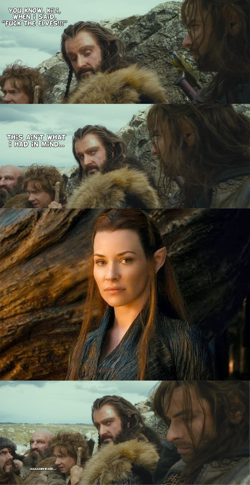 Hobbit Week - Parental Advise (SPOILERS) by yourparodies
