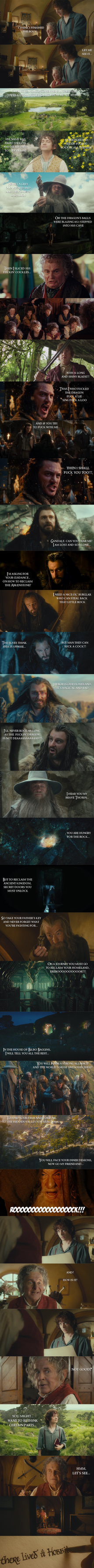 The Hobbit - Origins... (spoilers) by yourparodies