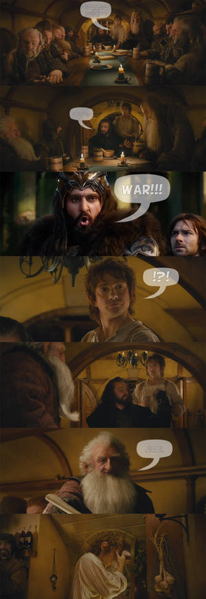 The Hobbit - Not on the menu