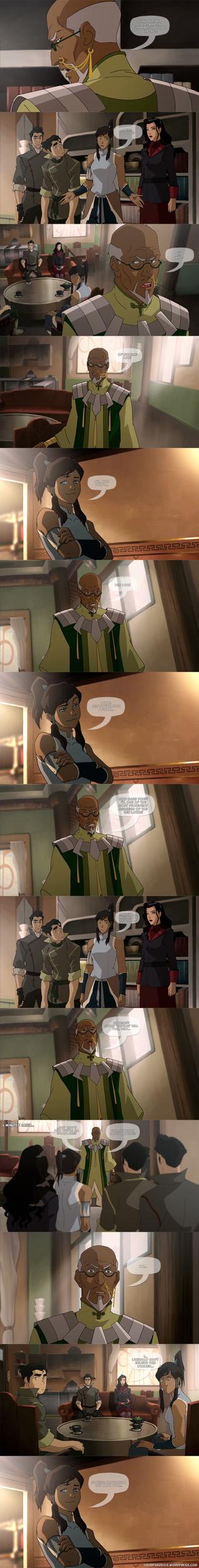 Legend of Korra - Avatar Wisdom by yourparodies