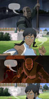 Legend of Korra - Late to the party