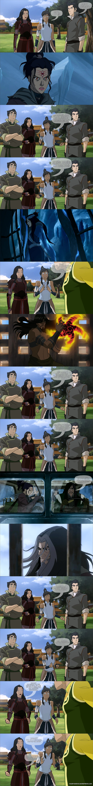 Legend of Korra - Enter the Fantastic Four by yourparodies