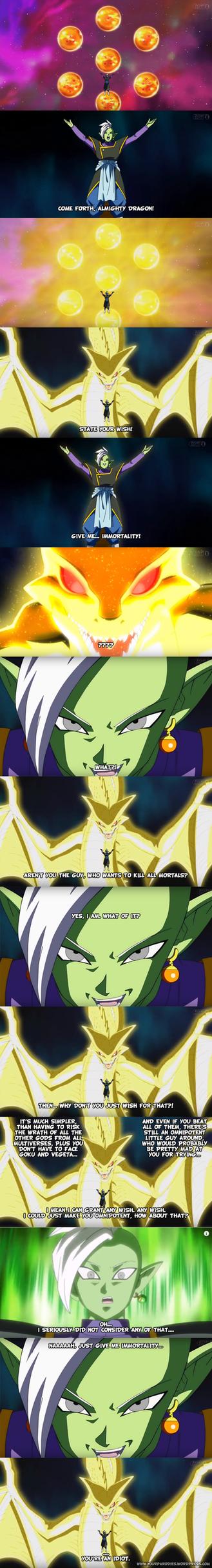 DragonBall Super - Zamasu's wish by yourparodies