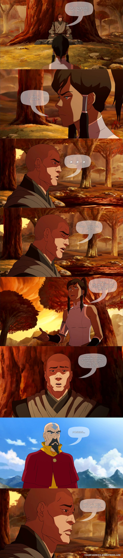 Legend of Korra - Quotes by yourparodies