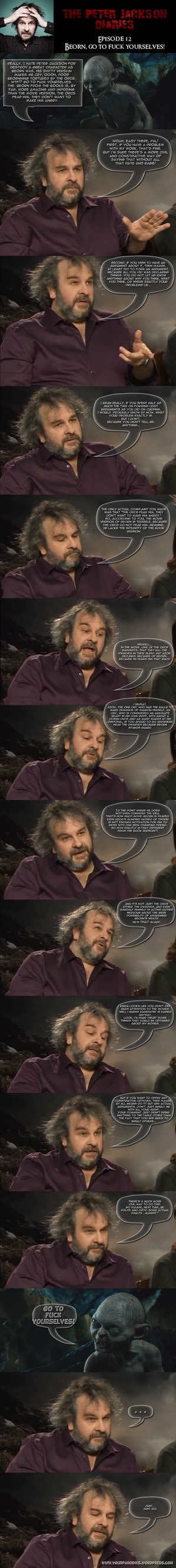The Peter Jackson Diaries 12 by yourparodies