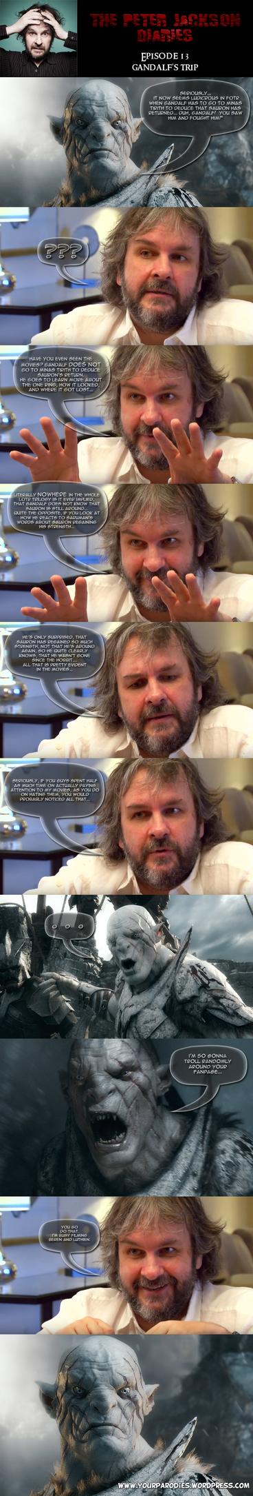 PJ Diaries 13 - Gandalf's trip by yourparodies