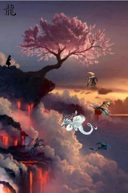 Discovering Dragons- Polyvore by EvanescenceHakuFan16