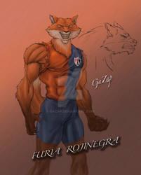FURIA ROJINEGRA