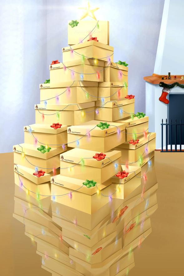 CHRISTMAS TREE by gazap