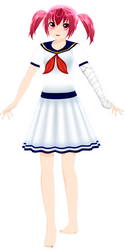 .newcomer OC- Mariko. by GraceBusya