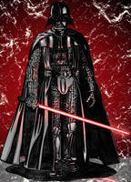 Darth Vader colored by azoulin