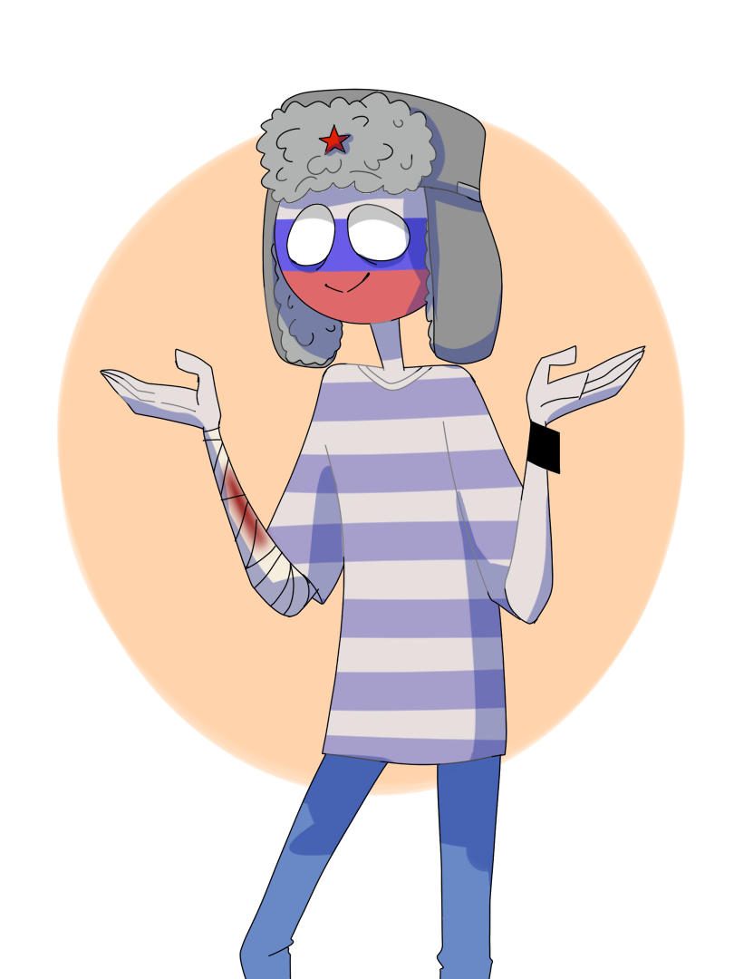 RUSSIA [Countryhumans\balls] by LuluDig on DeviantArt