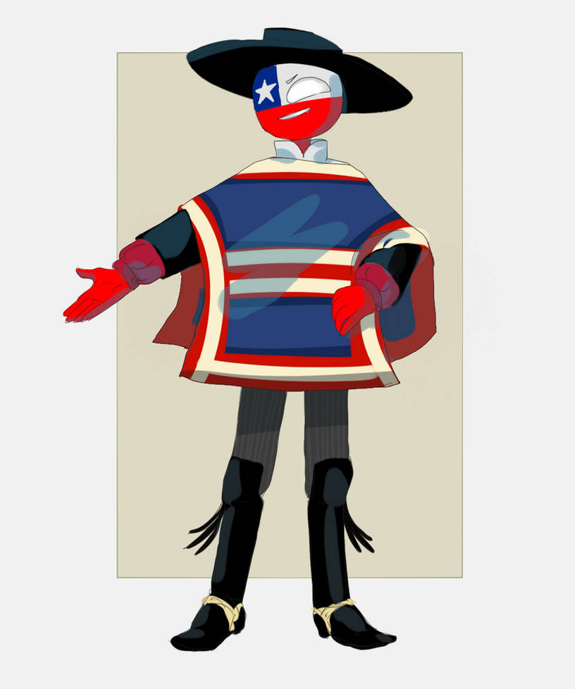 Chile [Countryhumans] by LuluDig on DeviantArt