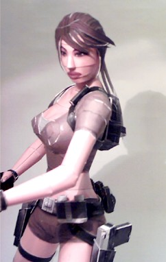 Lara Croft Legend papercraft 4 by ninjatoespapercraft
