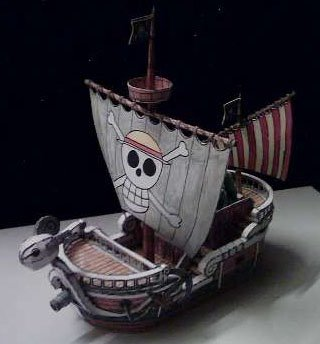 Going Merry papercraft by ninjatoespapercraft