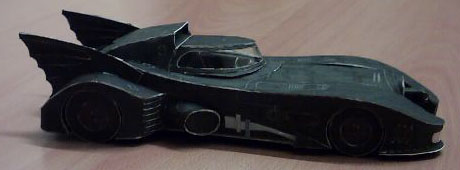 Batmobile papercraft 1 by ninjatoespapercraft