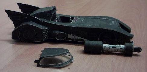 Batmobile papercraft 2 by ninjatoespapercraft