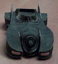 Batmobile papercraft 3 by ninjatoespapercraft