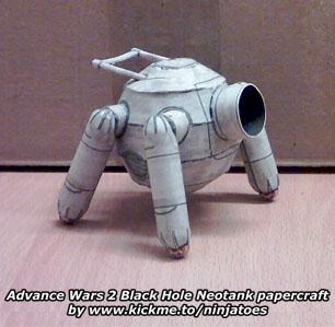 Black Hole Neotank by ninjatoespapercraft