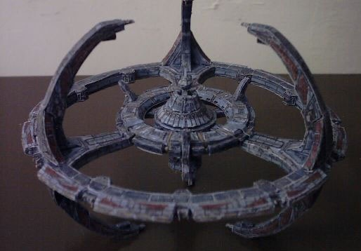 Deep Space Nine papercraft 1 by ninjatoespapercraft