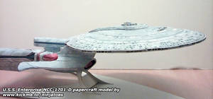 Enterprise-D papercraft