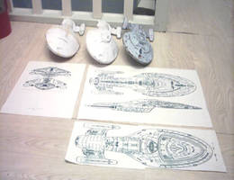 Voyager papercraft design 1 by ninjatoespapercraft