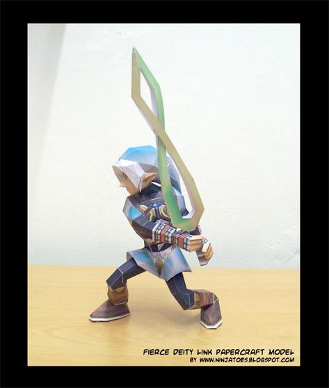 Oni Link papercraft by ninjatoespapercraft