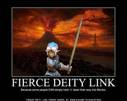 paper Oni Link motivational 2 by ninjatoespapercraft